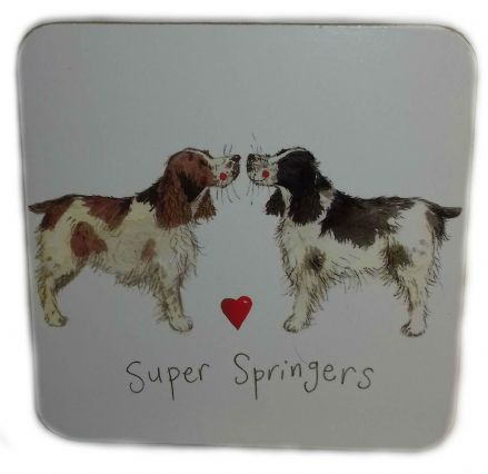 Super Springers Corked Backed Coaster